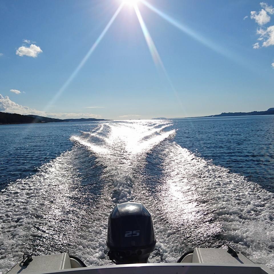 sommer båt
